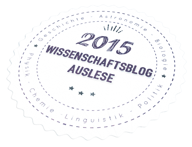Logo-Wissenschaftsblog des Jahres